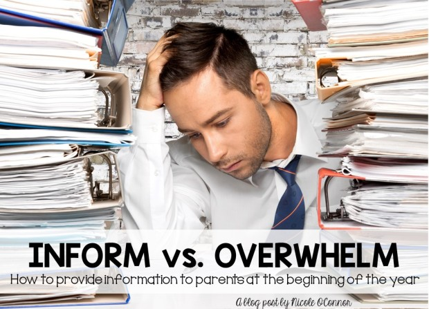 Blog Post Heading- Inform vs Overwhelm